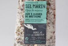 Sel De GuÉrande Igp Aux Trois Algues De Bretagne
