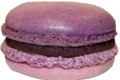 Patrick Migeon, macaron cassis geranium