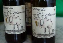 La bière du «Chameau»4% alc
