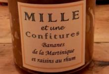 Bananes de la Martinique et raisins au rhum