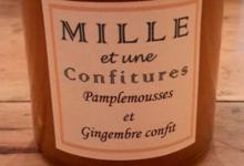 Pamplemousse et gingembre confit