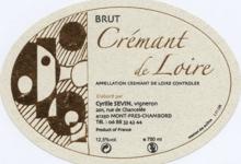 Cyrille Sevin, crémant de Loire