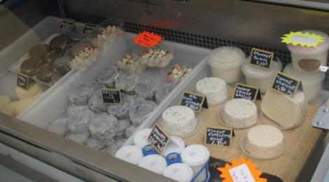 Ferme de la Duterie, fromages de vache