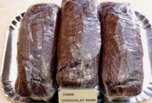 Boulangerie Hamelin, cake chocolat noir