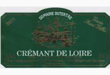 domaine Dutertre, Crémant de Loire Cuvée St Gilles