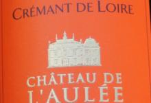 Château de l'Aulée, Crémant de Loire Brut L
