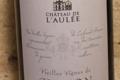 Château de l'Aulée, Vieilles Vignes Rouge