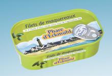 Phare d'Eckmühl,  Filets de maquereaux à l'huile d'olive bio