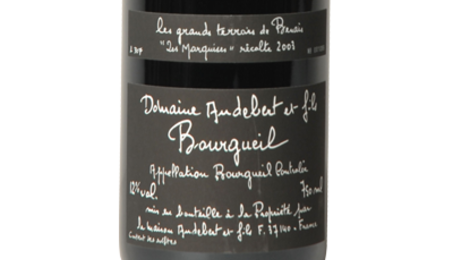 """Domaine Audebert et fils, """"Les Marquises"""""""
