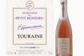 domaine du Petit Bondieu,  TOURAINE méthode traditionnelle rosé