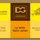 domaine de la Grange, La taille Saint Julien