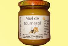 les ruchers de Verdeuil, miel  de  tournesol