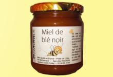 les ruchers de Verdeuil, miel  de  blé  noir  ou  sarrasin