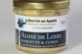 La bourriche aux Appétits, Alose de Loire à la roquette et cumin
