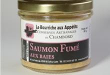 La bourriche aux Appétits, Saumon fumé aux baies