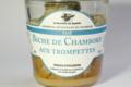 Biche sauvage de Chambord aux trompettes