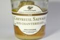 Chevreuil sauvage de Sologne aux chanterelles