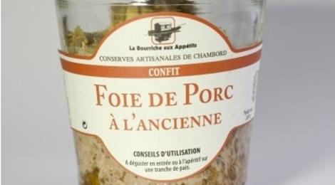 Confit de foie de porc à l'ancienne