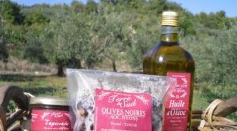 le jardin d'Ollon, TAPENADE aux Olives Noires AOC Nyons