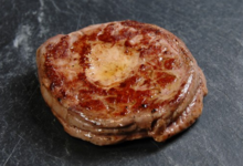 la ferme du Luguen, Tournedos d'aiguillette fourré au foie gras