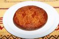 Gâteau breton à la framboise