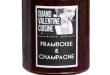 Confiture framboise champagne