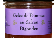 Esprit safran, Gelée de pommes au safran bigouden