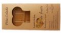 Tablette de pâte  de fruits artisanale confectionnée à partir de pêches de vigne. Poids net : 140g Ingrédients : Pulpe de pêches de vigne, sucre, pectine naturelle de pommes jaunes, sirop de glucose, acide citrique.