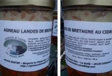 agneau des landes de Bretagne au cidre