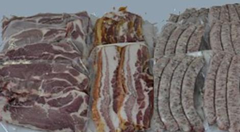 Ferme de Coat Mélen,  colis porc Eté