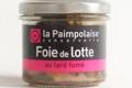 la Paimpolaise, foie de lotte au lard fumé