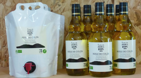 ferme du Menez Hom, huile de colza