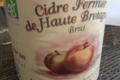 cidre fermier de Haute Bretagne brut