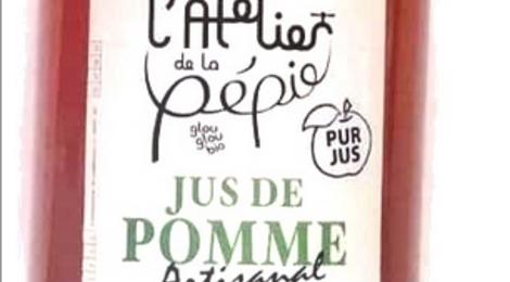L'atelier de la Pépie, jus de pomme bio
