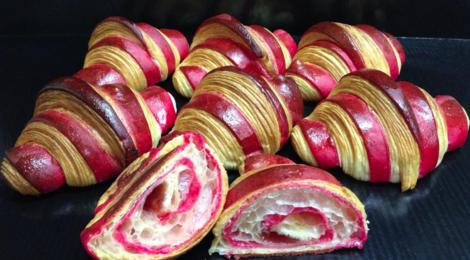 croissants framboise