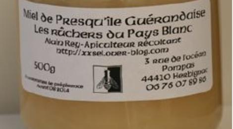 Les ruchers du Pays Blanc, miel de la Presqu'ile Guérandaise
