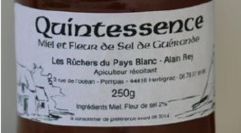 Les ruchers du Pays Blanc, miel et fleur de sel de Guérande