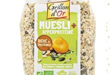 muesli + hyperprotéiné