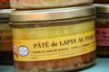 Pâté de lapin au foie gras