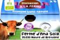Ferme de Meul'n, Fromage blanc Bio 40 %