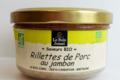 Le Bois Jumel, Rillettes de Porc au Jambon Bio