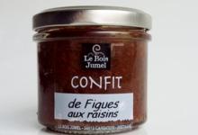 Le Bois Jumel, Confit de Figues aux Raisins