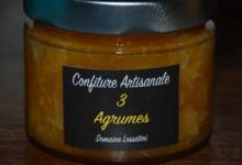 domaine Lessatini, Confiture 3 agrumes