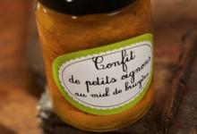 Confit de petits oignons au miel