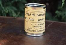 Ferme Larrey, paté au foie gras de canard