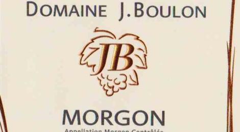 Domaine J Boulon, Morgon