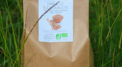 La ferme des Bouviers, Farine de Blé Complète BIO