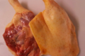 "Cuisses fraiches de canard gras de ""barbarie"""