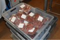 La ferme de Vindrac, colis de viande