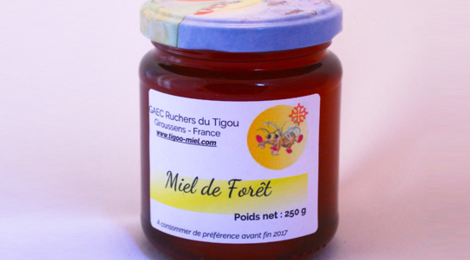 Les ruchers du Tigou, Miel de forêt